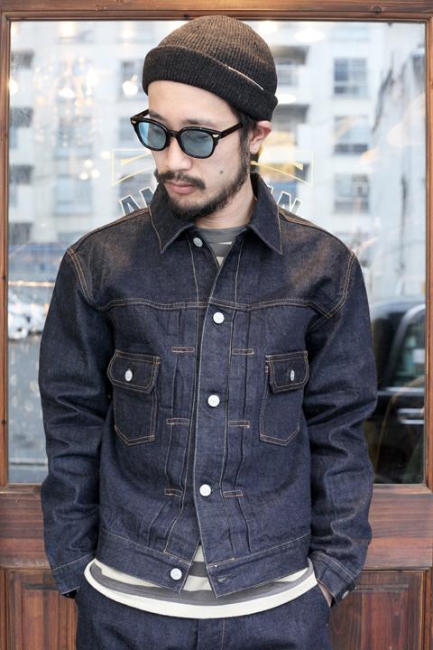 TROPHY CLOTHING/トロフィークロージング  「Authentic Denim Jacket」  オーセンティックデニムGジャン