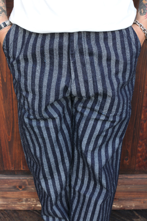 The Stylist Japan/ザスタイリストジャパン   「KAIHARA Denim Pants」   ストライプデニムパンツ