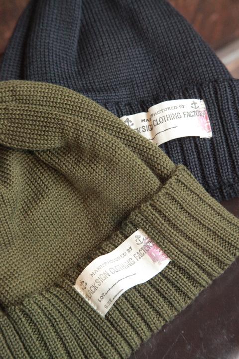 BLACK SIGN/ブラックサイン  「Civilian Knit Cap」  ニットキャップ