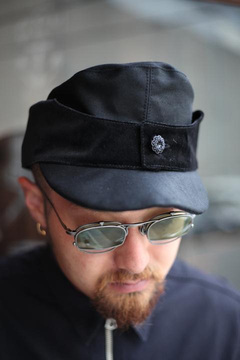 BLACK SIGN/ブラックサイン  「Black Velvet Storm King Cap」  ストームキングキャップ