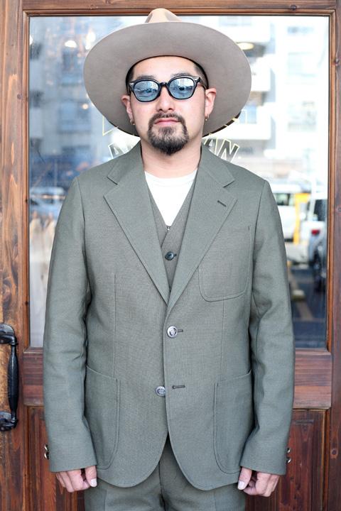 The Stylist Japan/ザスタイリストジャパン   「 NEW HopSack (Stretch Fabric) 」   ホップサックジャケット