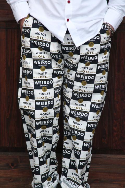 WEIRDO/ウィアード   「WRD CANS - PANTS」  総柄イージーパンツ
