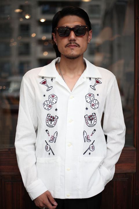 GANGSTERVILLE/ギャングスタービル   「HAVANA CLUB - L/S CUBA SHIRTS」  キューバシャツ