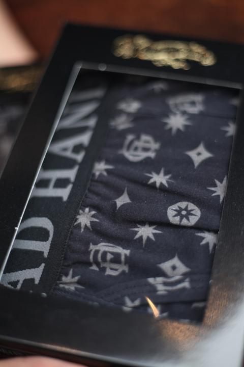 GLAD HAND/グラッドハンド   「GH FAMILY CREST - BOXERS」  ボクサーパンツ