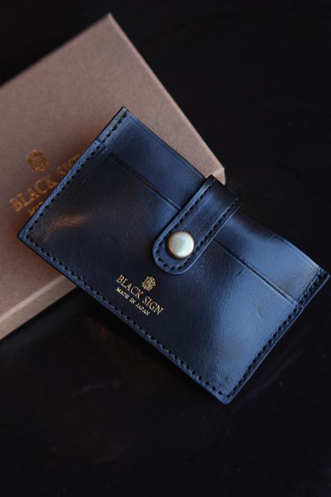 BLACK SIGN/ブラックサイン  「Horse Butt Card Case」  カードケース