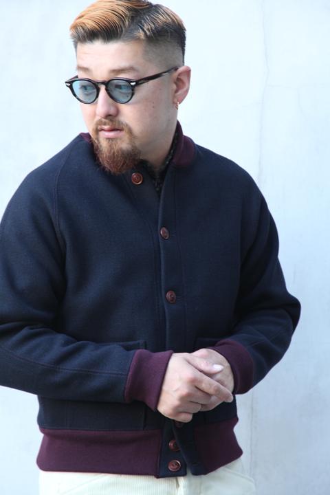 BLACK SIGN/ブラックサイン  「1930s Style Versity Jacket」  バーシティジャケット