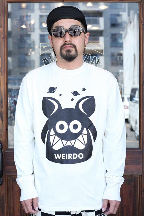 WEIRDO/ウィアード   「WEIRDO FINK -  L/S  T-SHIRTS」   L/S ティーシャツ