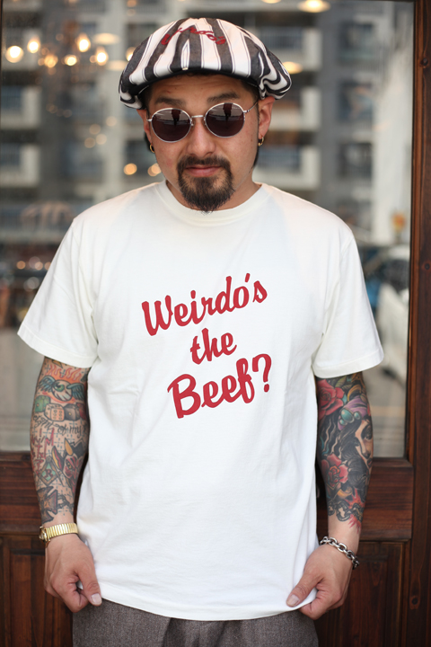 WEIRDO/ウィアード  「Weirdo's the Beef?? - S/S T-SHIRTS」  クルーネックティー