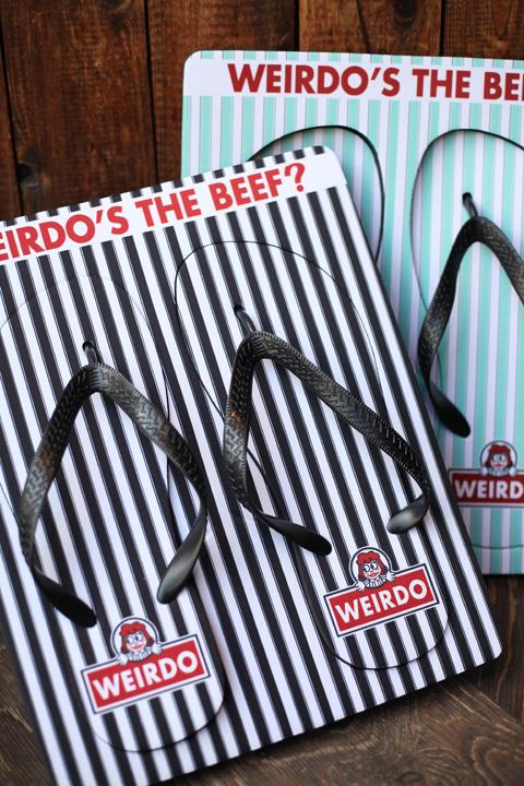 WEIRDO/ウィアード  「WINDY'S - BEACH SANDAL」  ビーチサンダル