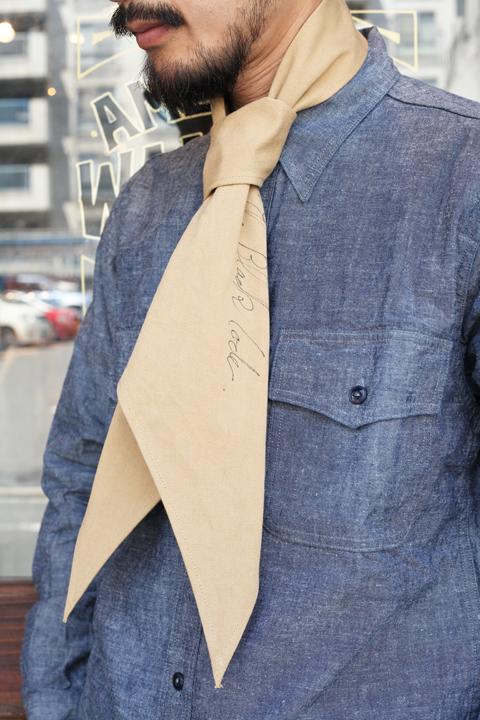 BLACK SIGN/ブラックサイン  「Soldier Scarf」  スカーフ