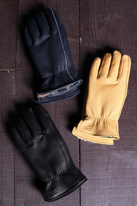 Lamp gloves/ランプグローブス  「Deer Winter Glove」  ウィンターレザ-グローブ