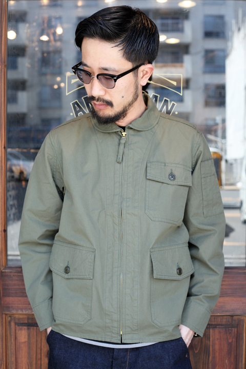 TROPHY CLOTHING/トロフィークロージング 「Summer Flight Jacket」 サマーフライトジャケット