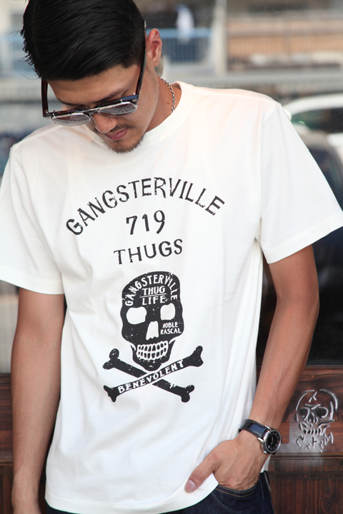 GANGSTERVILLE/ギャングスタービル  「GENUINE - S/S T-SHRITS」  S/S TEE