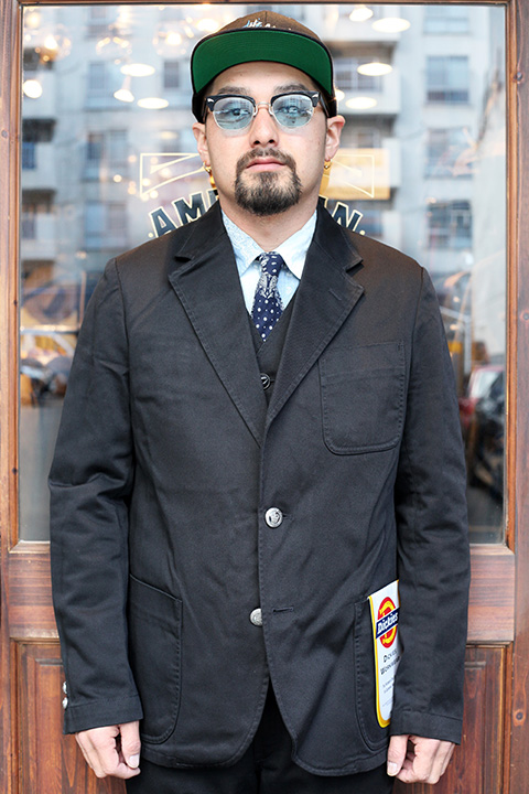 Dickies × The Stylist Japan 「 2B JACKET 」 テーラードジャケット