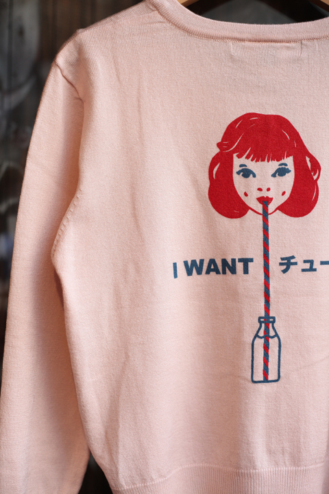 Miss Ladybug/ミスレディーバグ  「I want you (chu)- CARDIGAN」  カーディガン