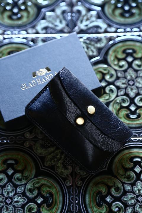 GLAD HAND/グラッドハンド  「DOUBLE FLAP COIN CASE」  ダブルフラップコインケース
