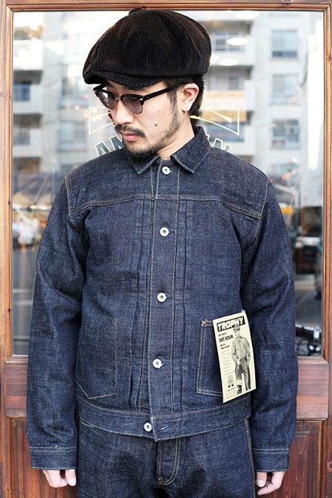 TROPHY CLOTHING/トロフィークロージング  「Dirt Denim Jacket」  ダートデニムGジャン