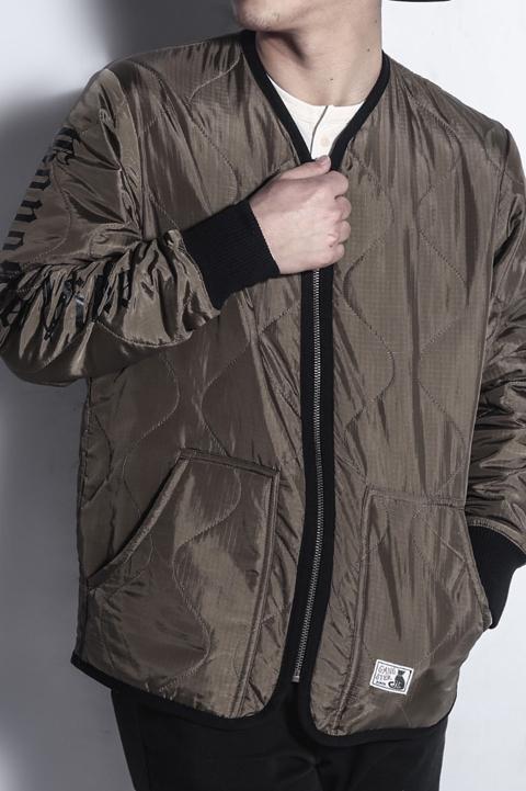 GANGSTERVILLE/ギャングスタービル  「RAZORGANG - QUILTED JACKET」  キルティングジャケット