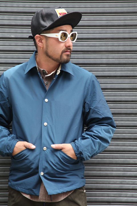 TROPHY CLOTHING/トロフィークロージング  「Warm Up Jacket」  60/40クロスコーチジャケット