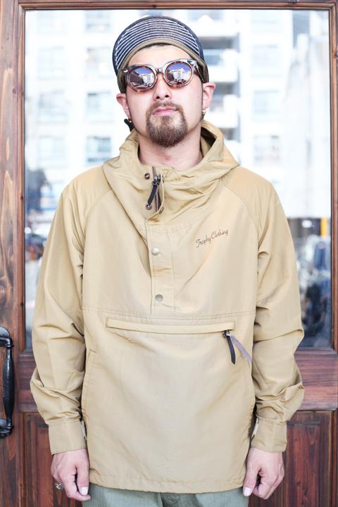 TROPHY CLOTHING/トロフィークロージング  「Alpine Anorak」  プルオーバージャケット