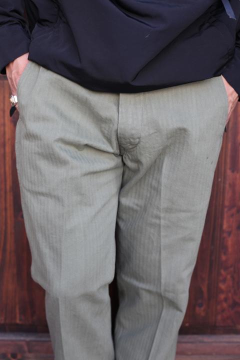 TROPHY CLOTHING/トロフィークロージング  「HBT Civilan Trousers」  トラウザーズ