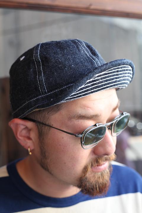 TROPHY CLOTHING/トロフィークロージング  「Dirt Denim Prisoner  Cap」 プリズナーキャップ