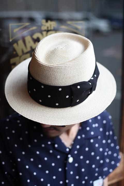 GANGSTERVILLE/ギャングスタービル    「THE MIXTURE 7.19 - HAT」   ブレードハット