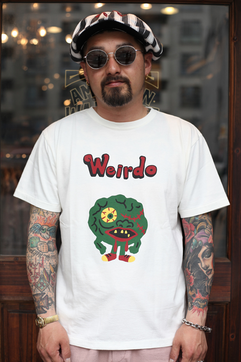 WEIRDO/ウィアード  「WGLIES CLOPS - S/S T-SHIRTS」  クルーネックティー