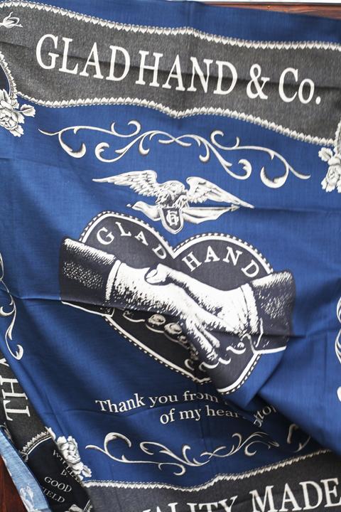 GLAD HAND/グラッドハンド    「HEARTLAND-SCARF」   スカーフ