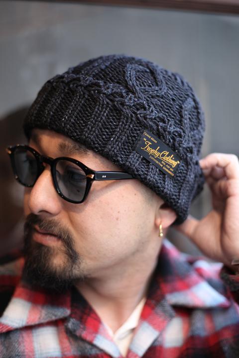 TROPHY CLOTHING/トロフィークロージング  「Fisherman Knit Cap」 フィッシャーマンニットキャップ