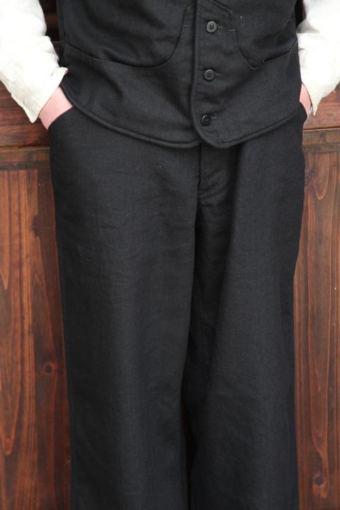 BLACK SIGN/ブラックサイン   「Linen Twill Clown Pants」   リネンクラウンパンツ