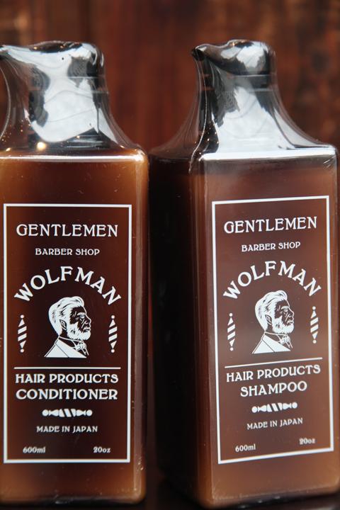 WOLFMAN×GLAD HAND   「WOLFMAN - SHAMPOO & CONDITIONER」  シャンプー&コンディショナー