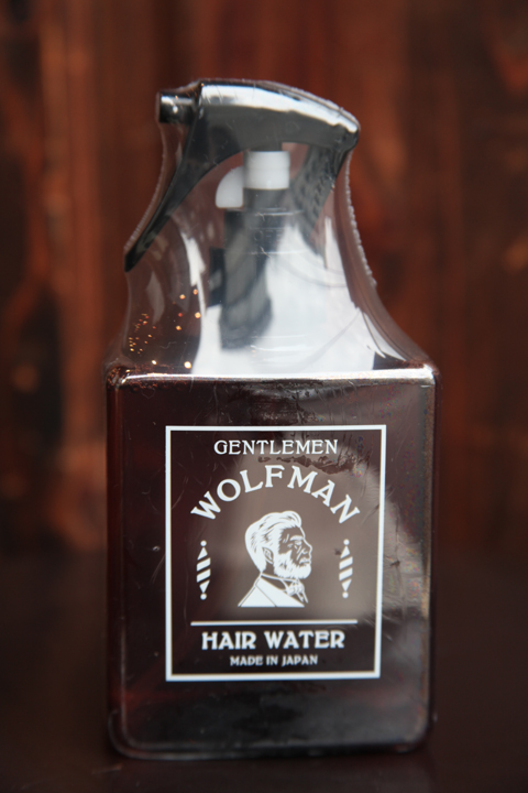 WOLFMAN×GLAD HAND   「WOLFMAN - HAIR WATER」  ヘアーウォーター