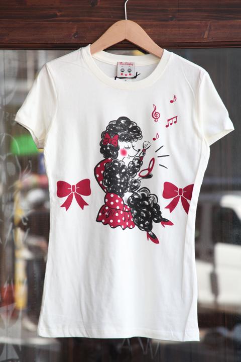 Miss Ladybug/ミスレディーバグ  「M.L - TEE SHIRTS」 クルー& Uネックティー