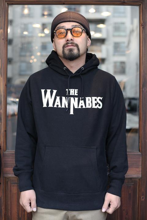 AMERICAN WANNABE/アメリカンワナビー  「WANNABES SWEAT PARKA」  プリントスウェットパーカー