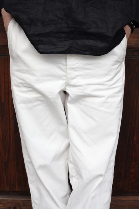 BLACK SIGN/ブラックサイン   「Heavy Twill Dress Trousers」  ツイルトラウザース