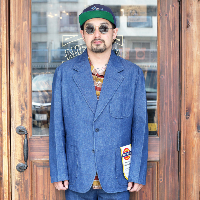 Dickies × POGGY THE MAN × The Stylist Japan 「 2BS DENIM JACKET 」 デニムジャケット