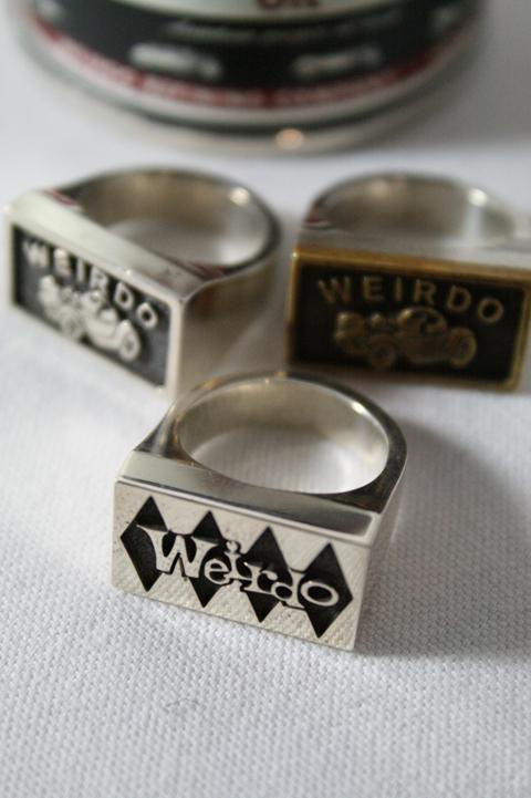 WEIRDO  「SIG-RING」 シルバー リング