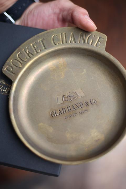 GLAD HAND/グラッドハンド   「GH - POCKET CHANGE TRAY」 真鍮製トレー