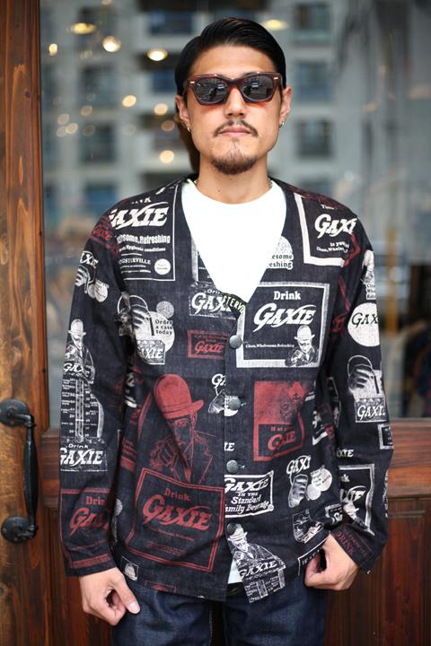 GANGSTERVILLE/ギャングスタービル   「GAXIE -  SHIRTS」  コットンシャツ