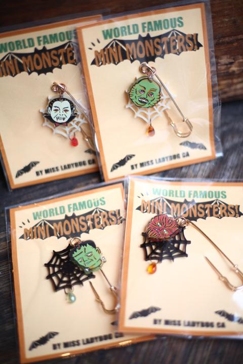 Miss Ladybug/ミスレディーバグ  「MONSTER - PIN」  モンスターピン
