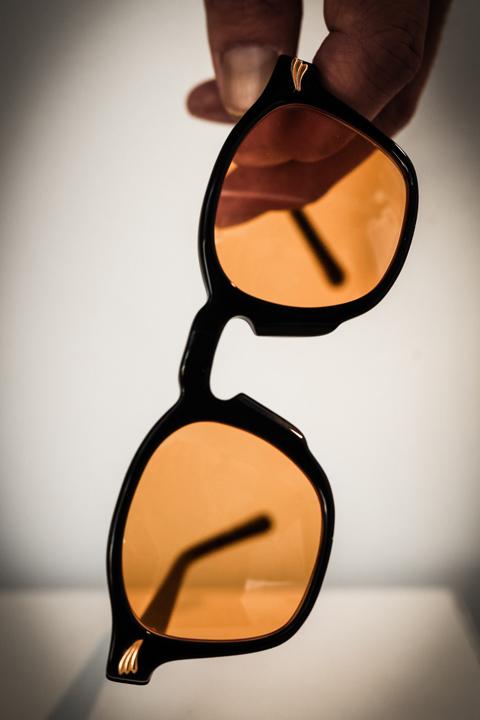 GROOVER × AMERICAN WANNABE    「DOLL American Wannabe 別注」    アセテート眼鏡
