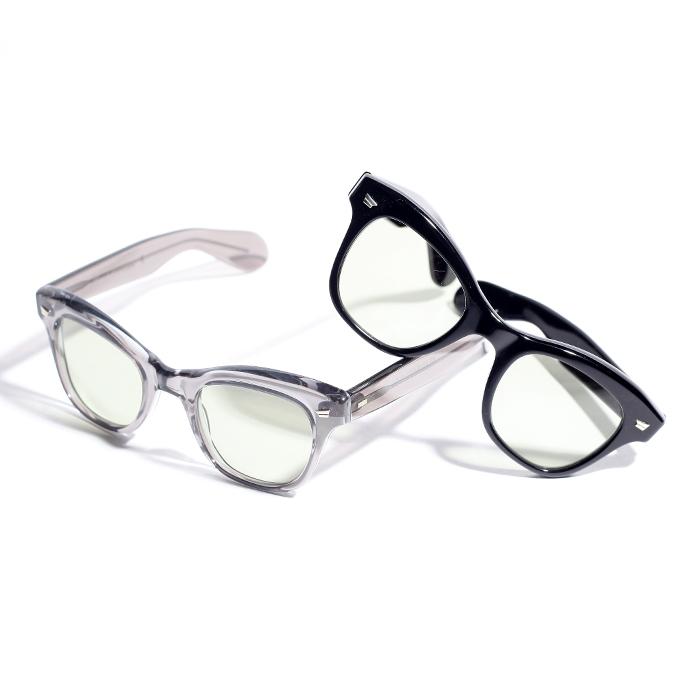 GLAD HAND×BLACK CARAVAN 「 BLACK CARAVAN - SISSY # 001 」  セルロイド眼鏡