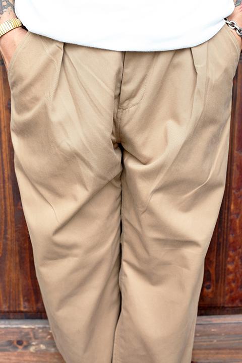 WEIRDO/ウィアード   「W & L UP - TACK PANTS」   タックパンツ