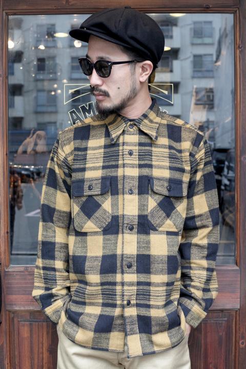 TROPHY CLOTHING/トロフィークロージング   「Buffalo L/S Shirt」  バッファローチェックL/Sシャツ