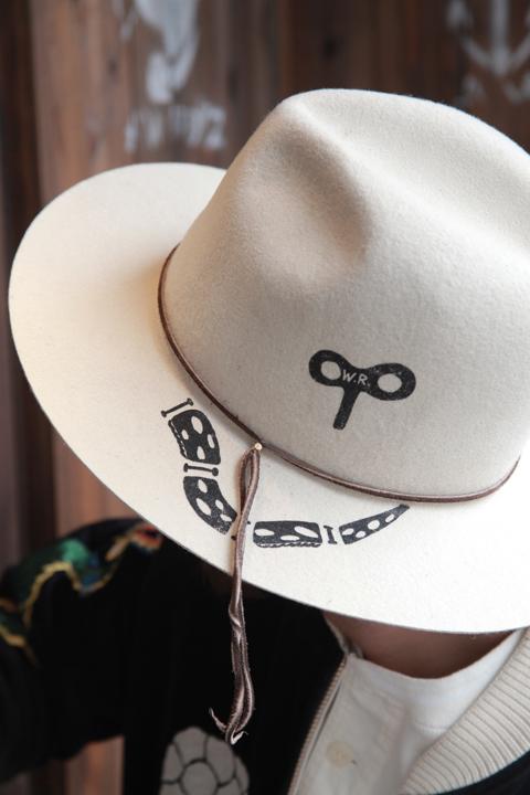 WEIRDO/ウィアード   「SNAKE WIND UP - WOOL HAT」  ウールフェルトハット