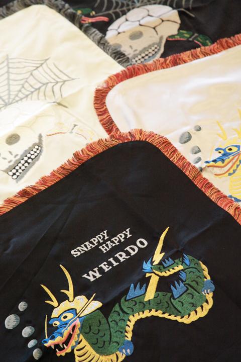 WEIRDO/ウィアード  「SKULL & SNAKE - CUSHION COVER」  クッションカバー