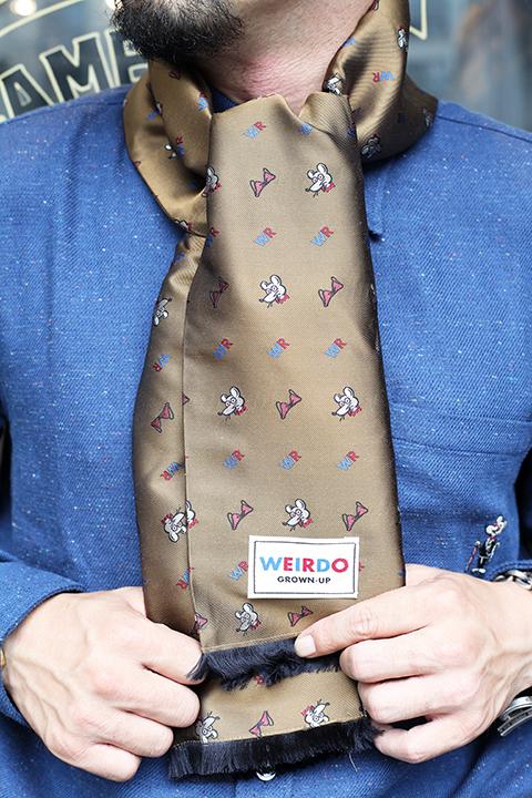 WEIRDO/ウィアード  「CLASSIC RAT - STOLE」 ストール