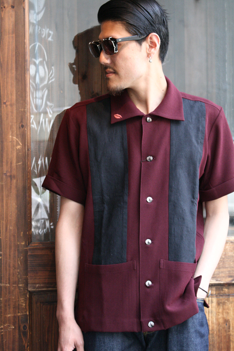 GANGSTERVILLE/ギャングスタービル   「GIN MILL - S/S SHIRTS」 ダブルジョーゼットシャツ