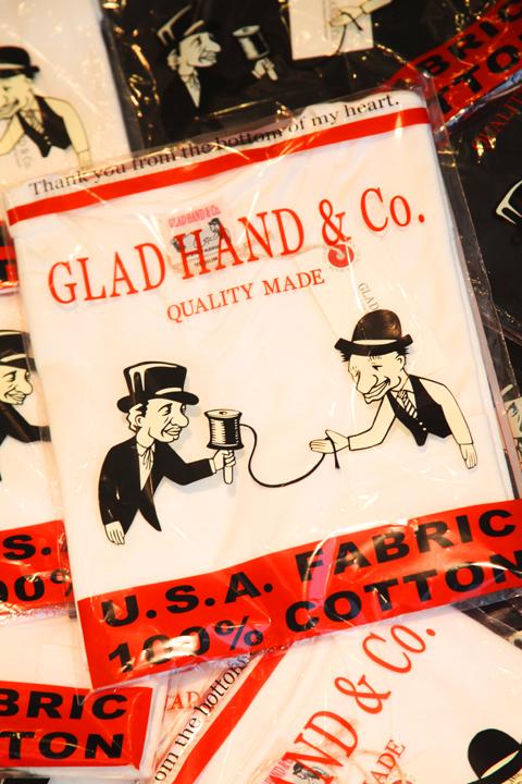 GLAD HAND/グラッドハンド  「17 HALF SLEEVE HENRY  T-SHIRTS」 ハーフスリーブヘンリー